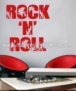 Rock n´ Roll Sticker