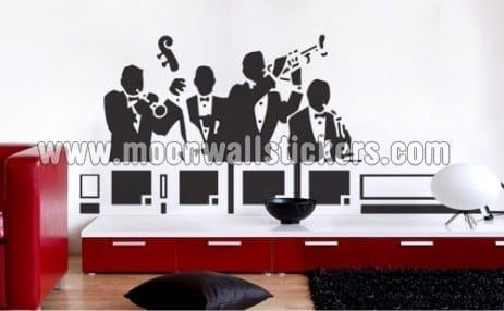 Band Jazz Sticker