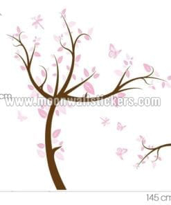 Pink Tree Sticker