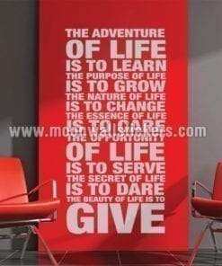The Adventure of Life Sticker