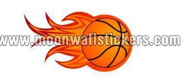 basketball-on-fire-wall-sticker