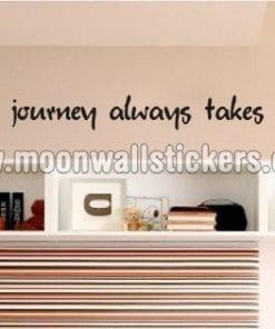 The Best Journey Sticker