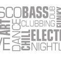 Nightlife Music Sticker