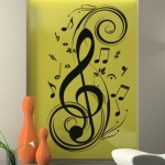 Clef Music Sticker