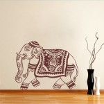 Oriental Elephant Sticker