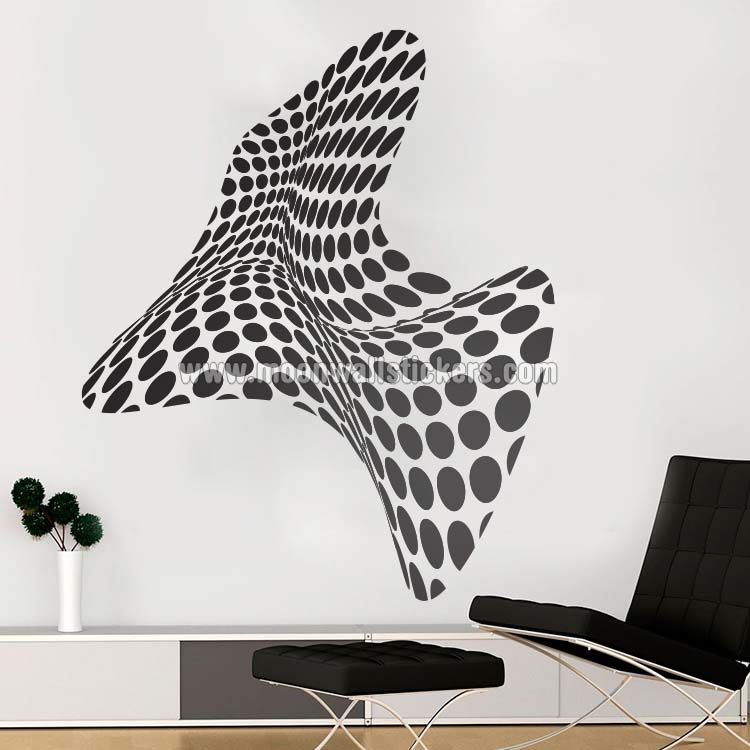 3d wall art - moonwallstickers