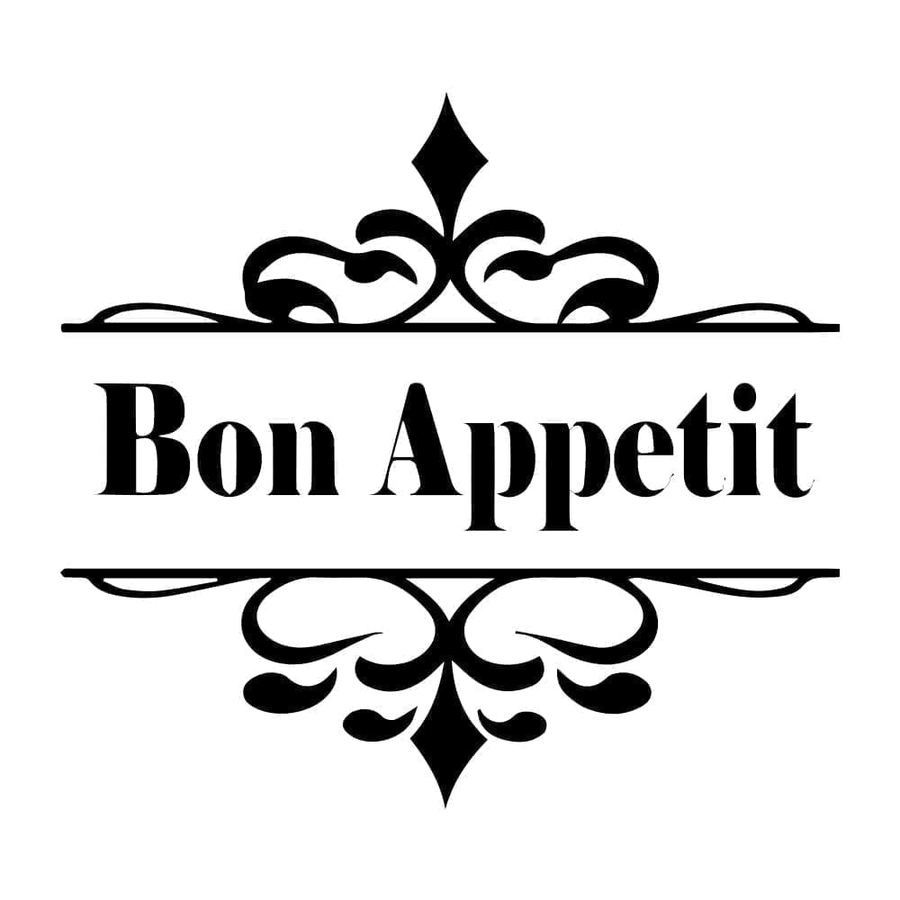 Bon Appetit Sticker Detail