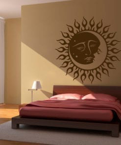 Tribal Sun and Moon