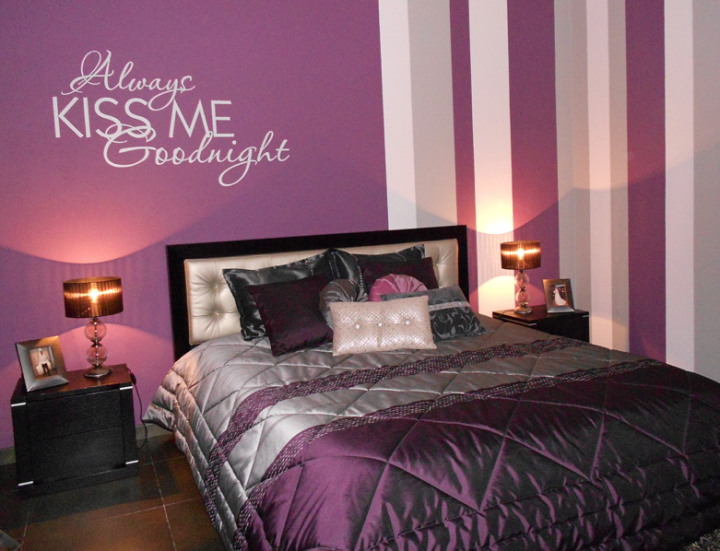 Always Kiss Me Goodnight Wall Decal Sticker Part 92
