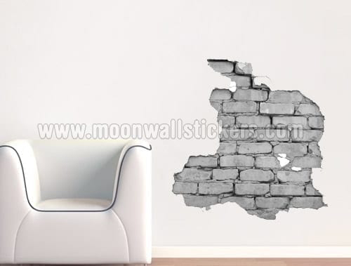 Urban wall stickers brick wall stickers gumiabroncs Images