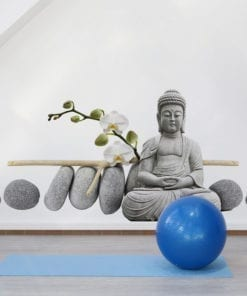 Buddha Statue Sitting Sticker