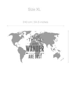 Carte Du Monde Origami.Carte Du Monde Origami Colore Autocollant Moonwallstickers Com