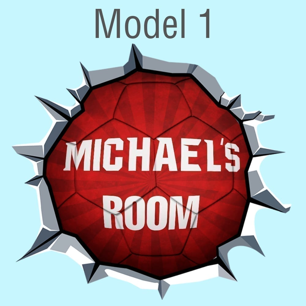 Custom-soccer-ball-Model-1-Red