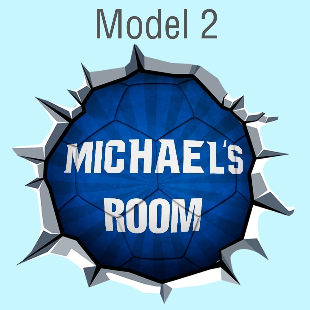 Custom-soccer-ball-Model-2-Blue