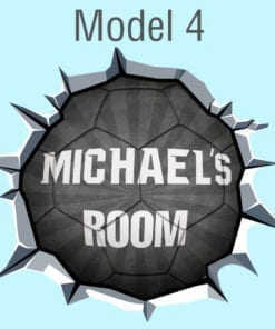 Custom-soccer-ball-Model-4-Black
