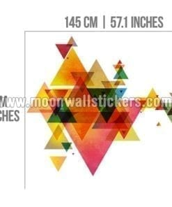 Triangle Mid Century Modern Geometric