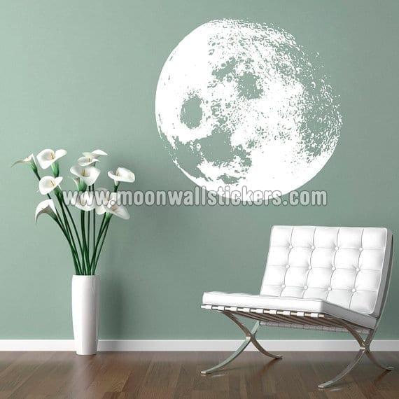 moon wall sticker - moonwallstickers