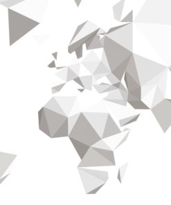 Carte Du Monde Origami.Carte Du Monde Origami Autocollant Moonwallstickers Com