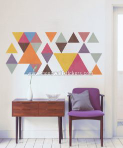 Triangles Geometric Wall