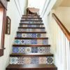 Hydraulic Tiles Stickers - Stairs