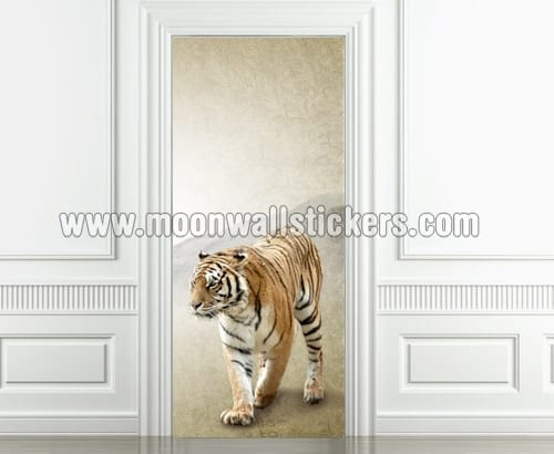 Tiger 2 Door Sticker  Moonwallstickerscom