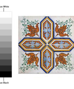 Portuguese Tiles Azulejos - Color Spectrum