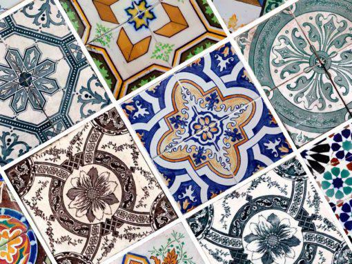 Portuguese Tiles Azulejos - Detail