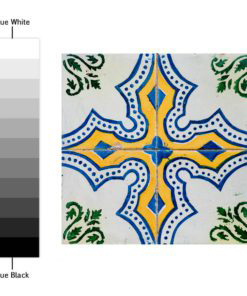 Portuguese Tiles Azulejos Stickers - Color Spectrum
