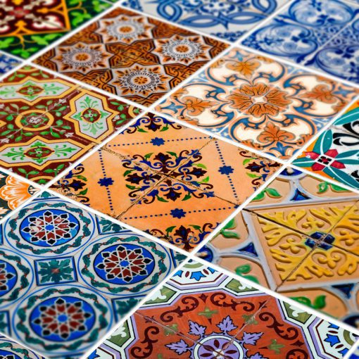 Portuguese Tiles Azulejos Stickers - Detail