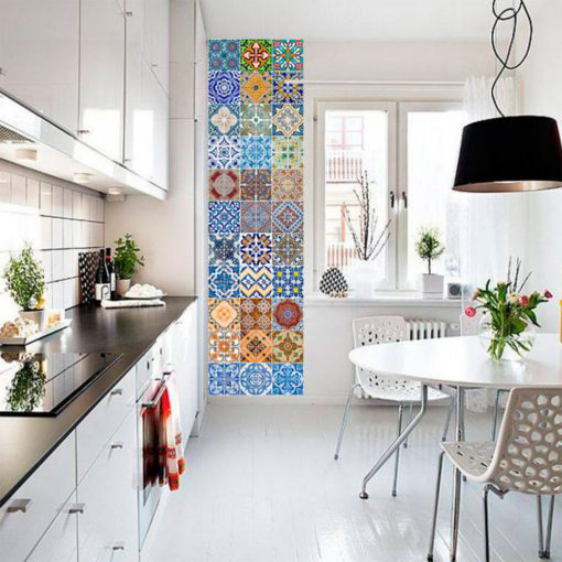Portuguese Tiles Azulejos Stickers - Wall