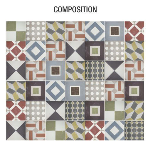 Sintra Tiles Stickers - Composition