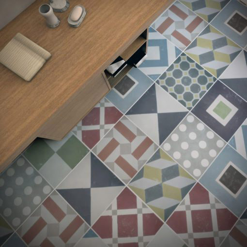 Sintra Tiles Stickers - Floor 2