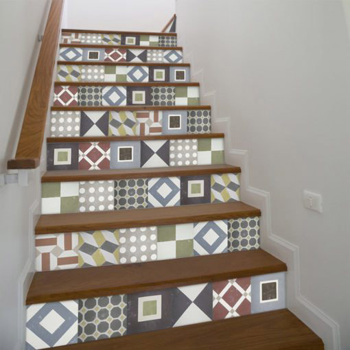 Sintra Tiles Stickers - Stairs