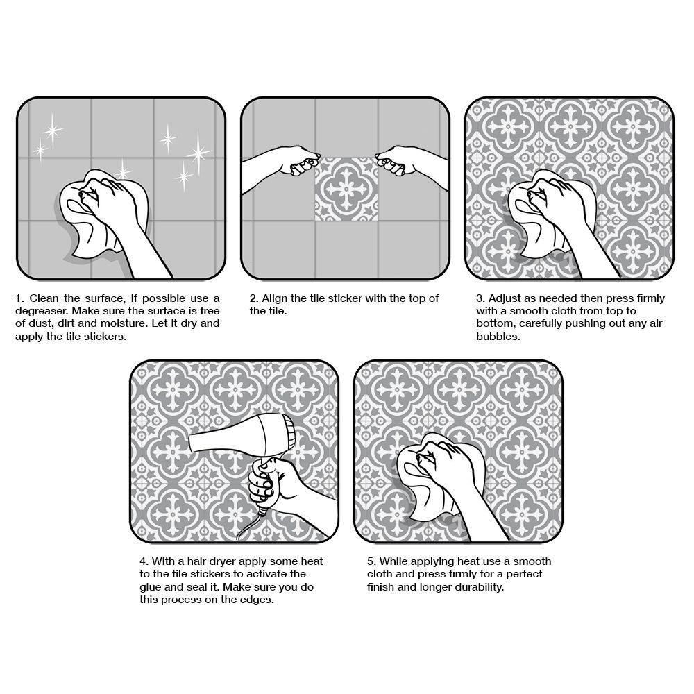 Tiles for bathroom or Tiles for kitchen