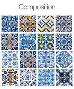 Tiles for Bathroom or Tiles for Kitchen - Composition