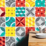 Geometric Tiles Stickers