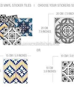 Tile Patterns Stickers