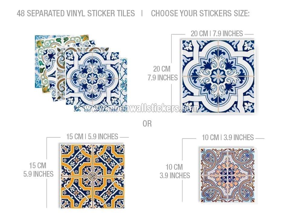 Vinilo azulejo portugu s cocina - Vinilo para azulejos ...