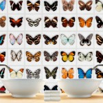 Butterfly Tiles Stickers