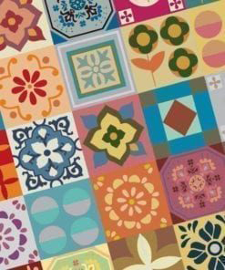 Tile Patchwork Stickers Detail