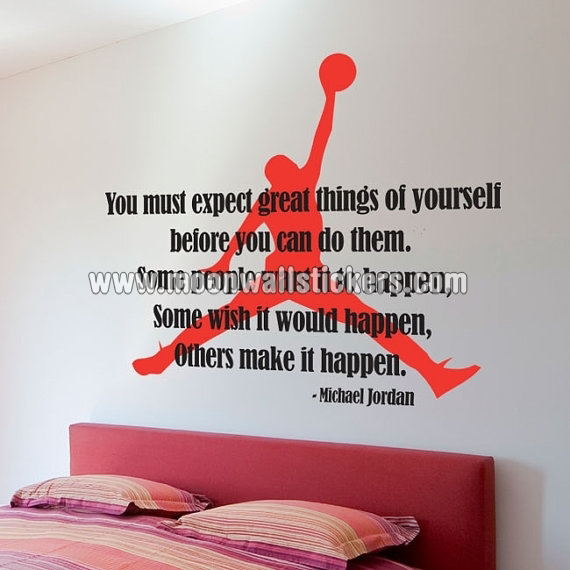 Genial Michael Jordan Wall Sticker