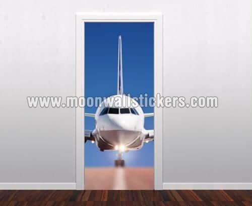 Plane Door Sticker & Plane Door Sticker - Moonwallstickers.com