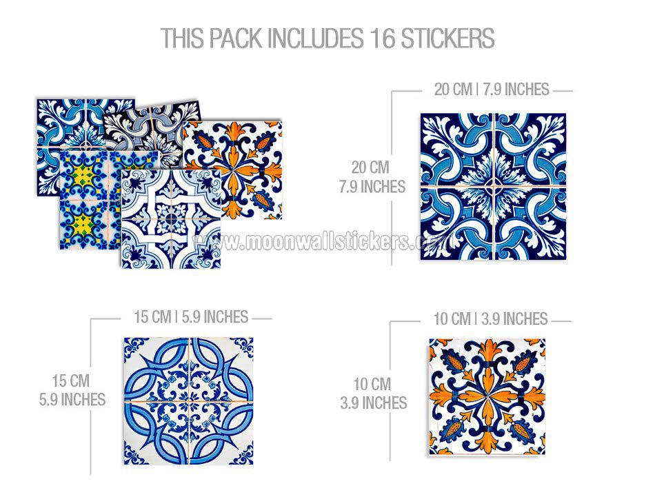 Decoraci n azulejo para cocina o ba o for Stickers para azulejos cocina