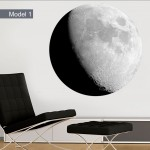 Moon Wall Decals