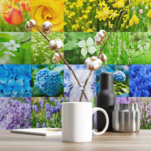 Stickers for Tiles Color Nature - Wall 1
