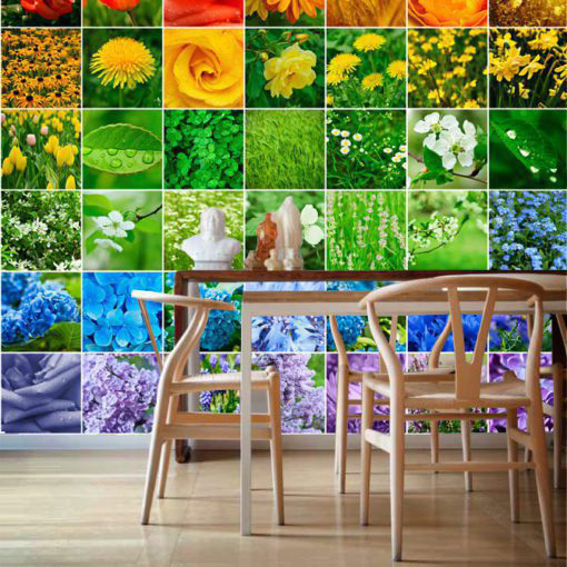 Stickers for Tiles Color Nature - Wall