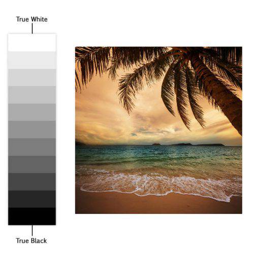 Tiles Stickers Beach Paradise - Color Spectrum