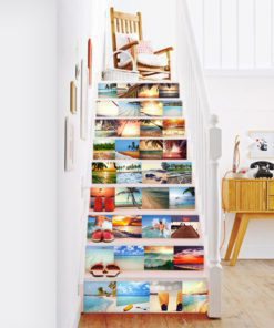 Tiles Stickers Beach Paradise - Stairs
