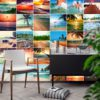 Tiles Stickers Beach Paradise - Wall