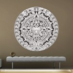 Aztec Maya Calendar Wall Decal